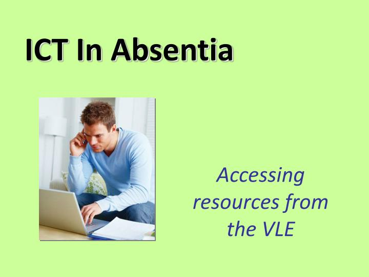 ict in absentia n.