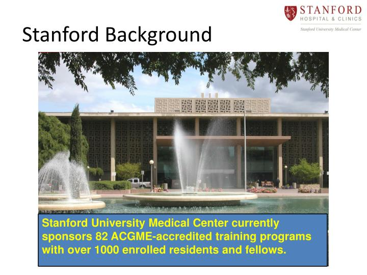 Stanford Background