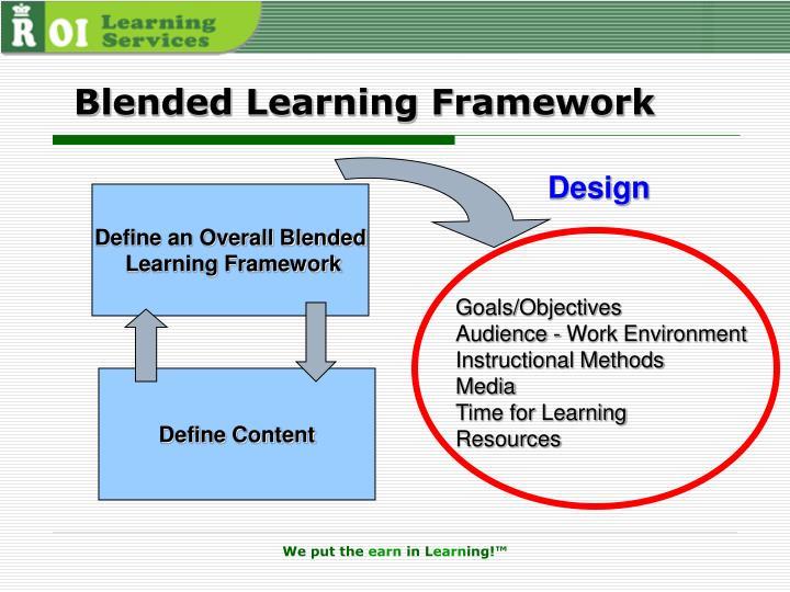 Blended Learning Framework