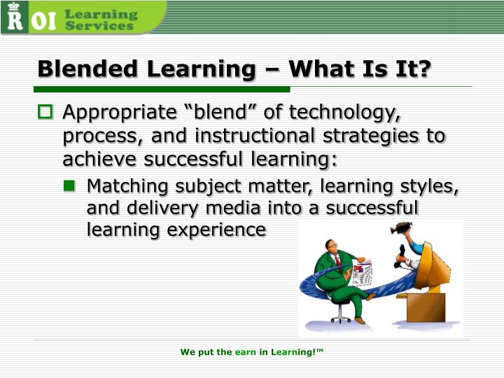 Blended Learning – What Is It?