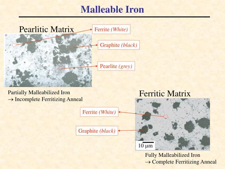 Malleable Iron