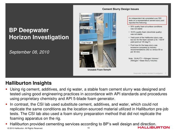 BP Deepwater