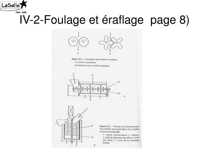 IV-2-Foulage et éraflage  page 8)