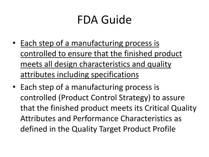 FDA Guide