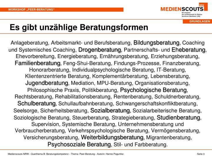 """PPT - Willkommen zum Workshop """"Peer-Beratung"""" Beratung auf Augenhöhe ..."""