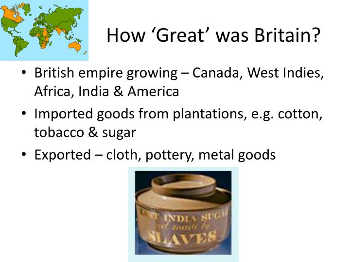 How 'Great' was Britain?