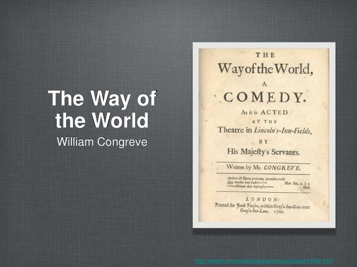 the way of the world n.