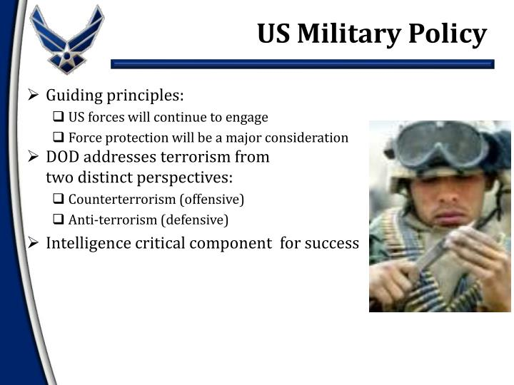 US Military Policy