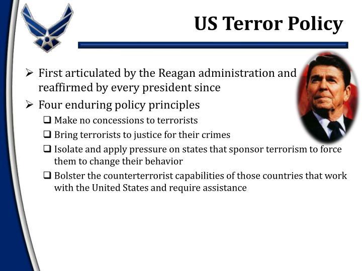 US Terror Policy