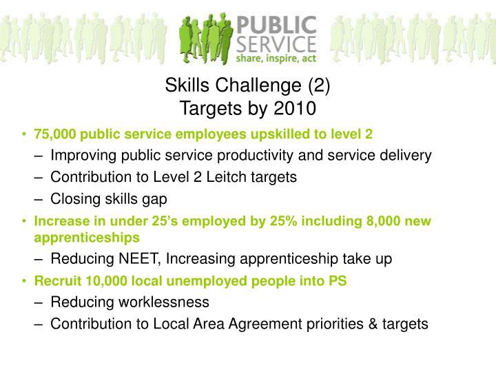 75,000 public service employees upskilled to level 2
