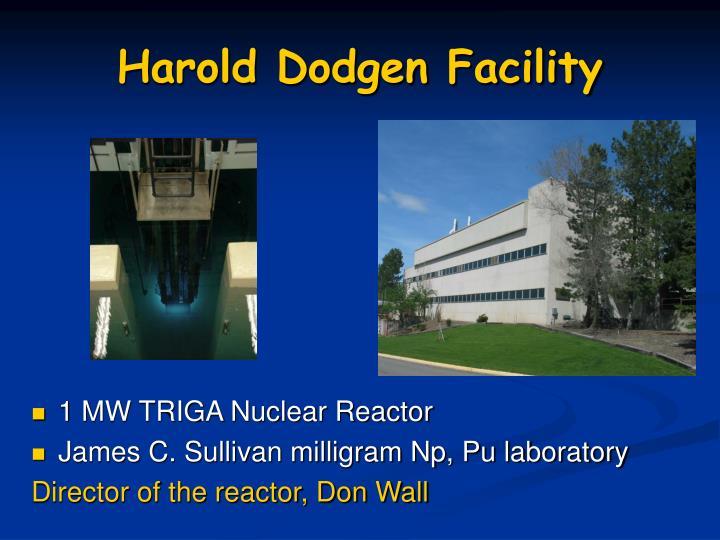 Harold Dodgen Facility