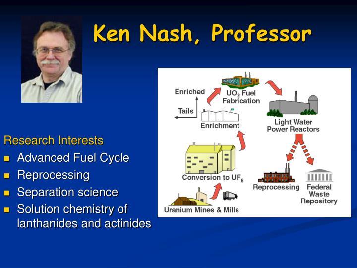 Ken Nash, Professor