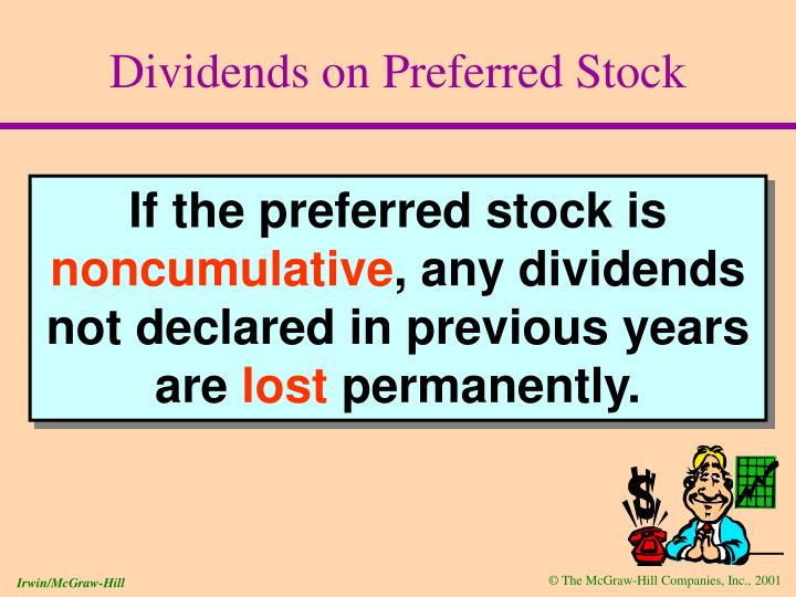 Dividends on Preferred Stock