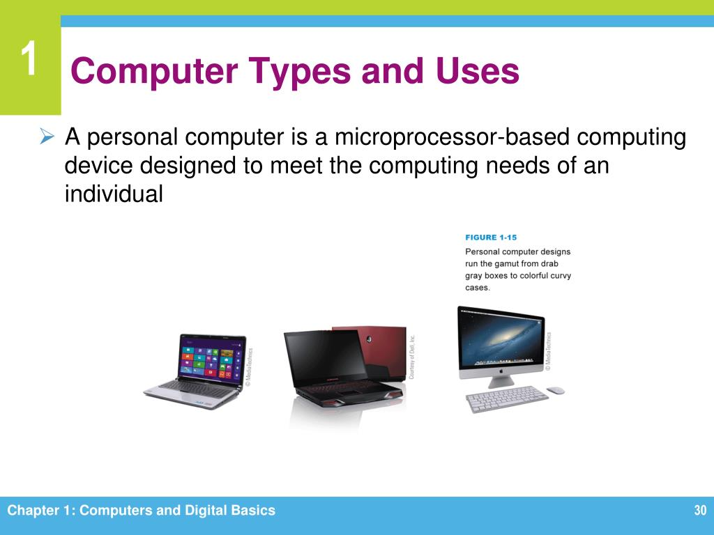 PPT - Chapter 1 Computers and Digital Basics PowerPoint