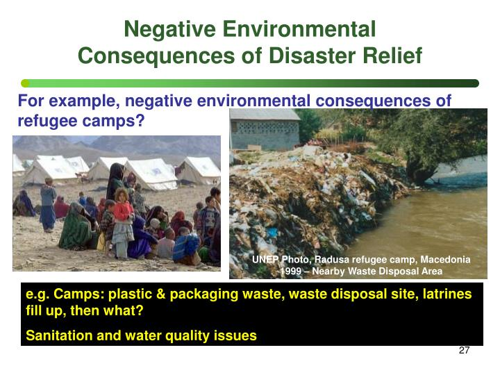 Negative Environmental