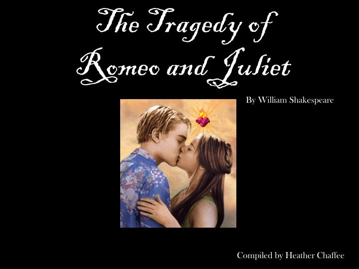 romeo and juliet is a dramatic