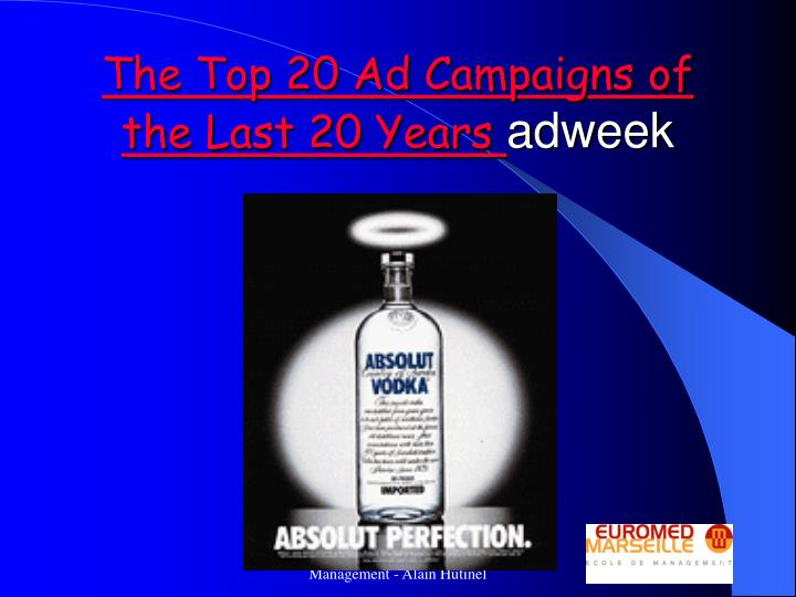 The Top 20 Ad Campaigns of the Last 20 Years