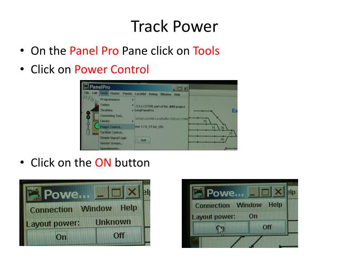 Track Power