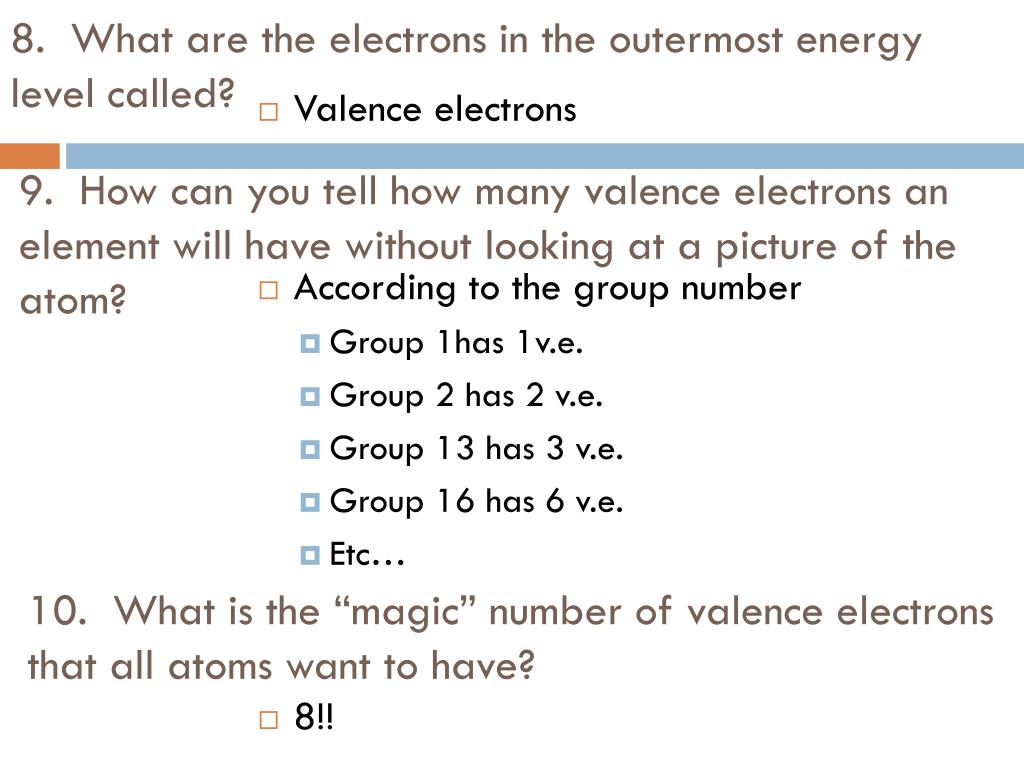 Ppt Valence Electrons Powerpoint Presentation Manual Guide