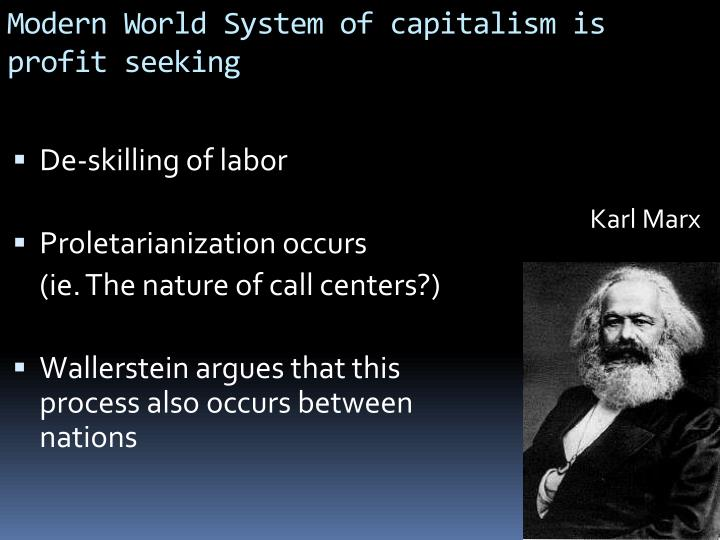De-skilling of labor