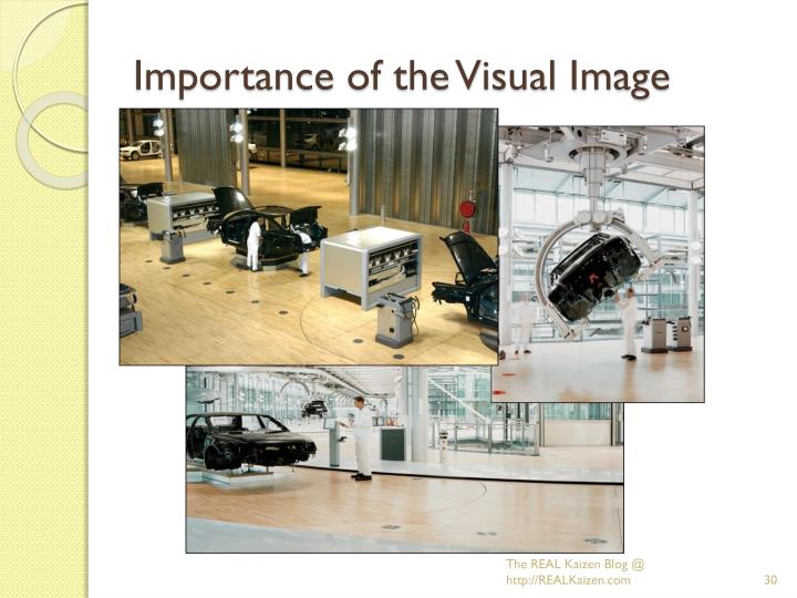 Importance of the Visual Image