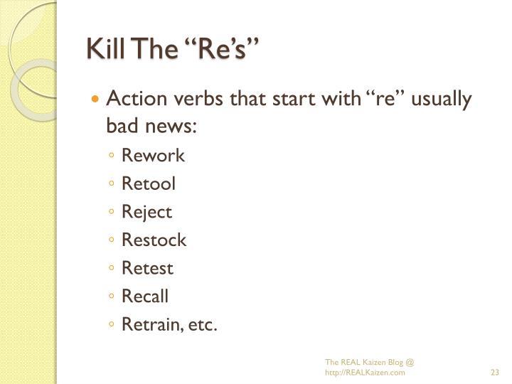 """Kill The """""""