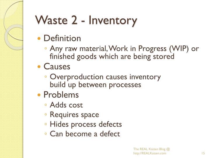 Waste 2 - Inventory