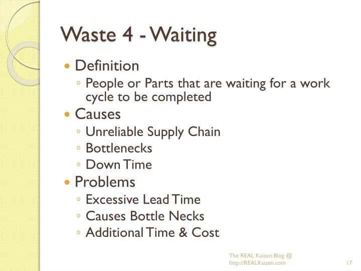 Waste 4 - Waiting