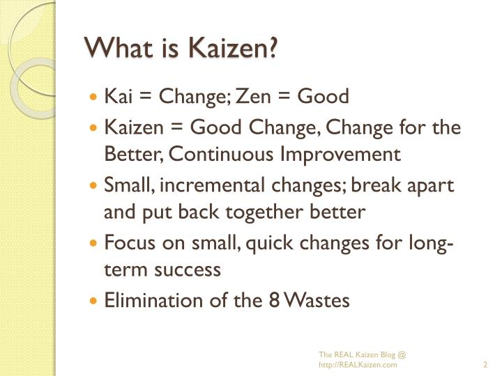 What is kaizen