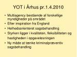 yot i rhus pr 1 4 2010