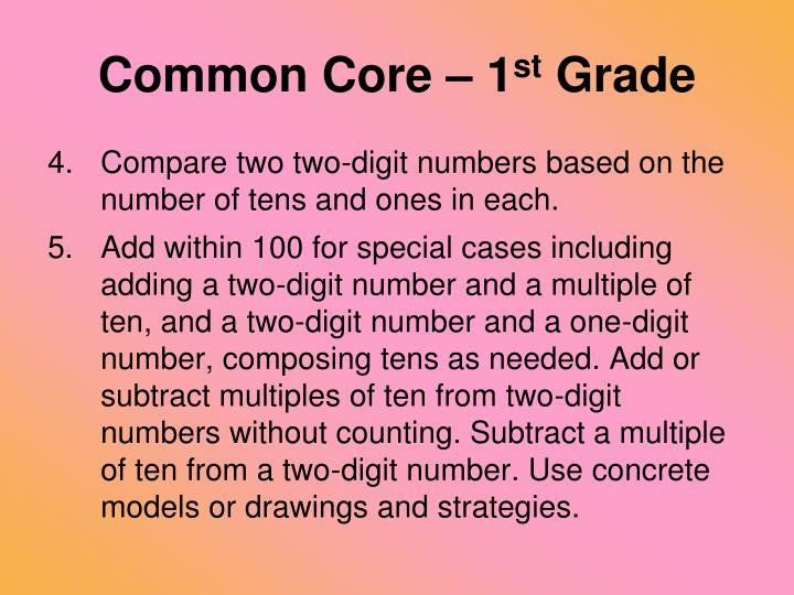 Common Core – 1