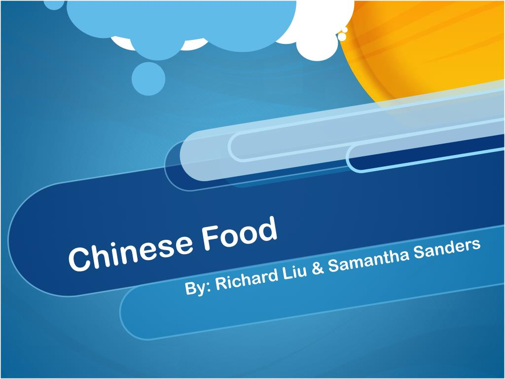 PPT - Chinese Food PowerPoint Presentation - ID:5667607