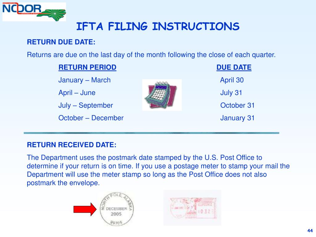 PPT - COMPLETING AN IFTA TAX RETURN PowerPoint Presentation