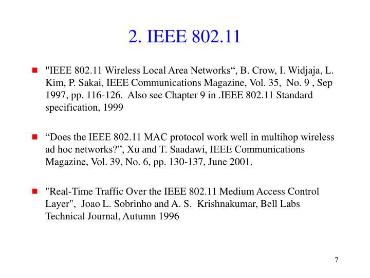 2. IEEE 802.11