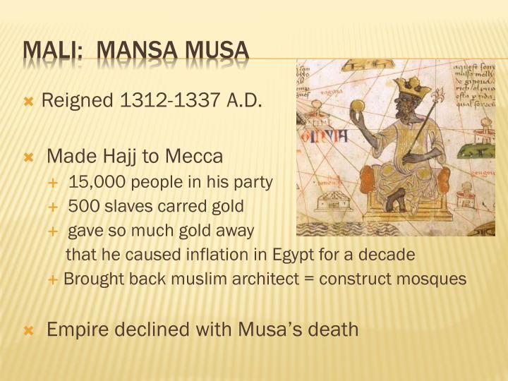 Reigned 1312-1337 A.D.