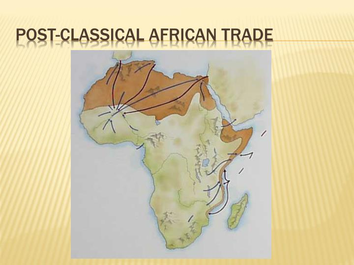 Post-classical African Trade