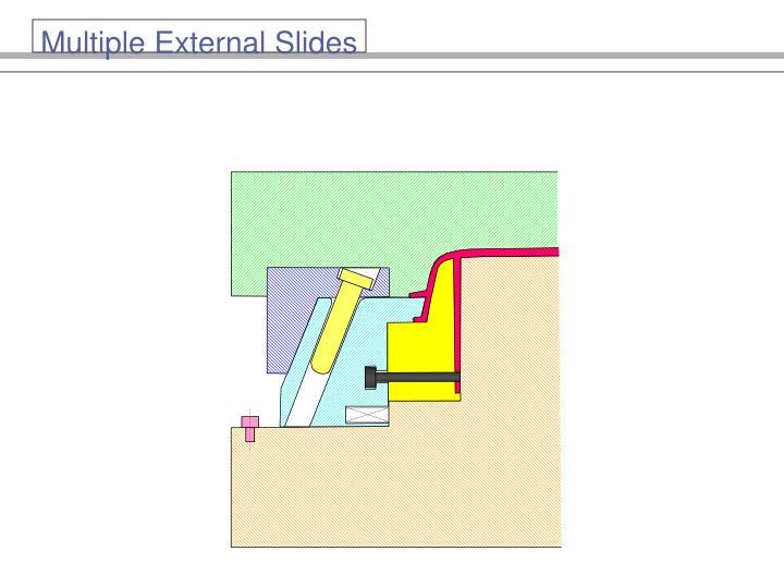 Multiple External Slides