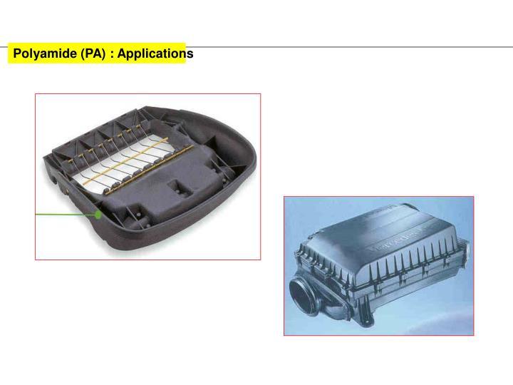 Polyamide (PA) : Applications