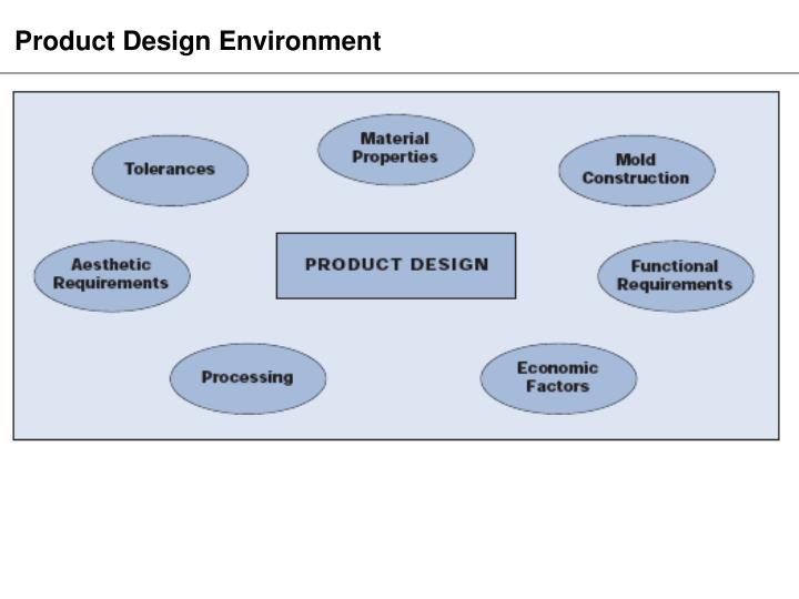 Product Design Environment