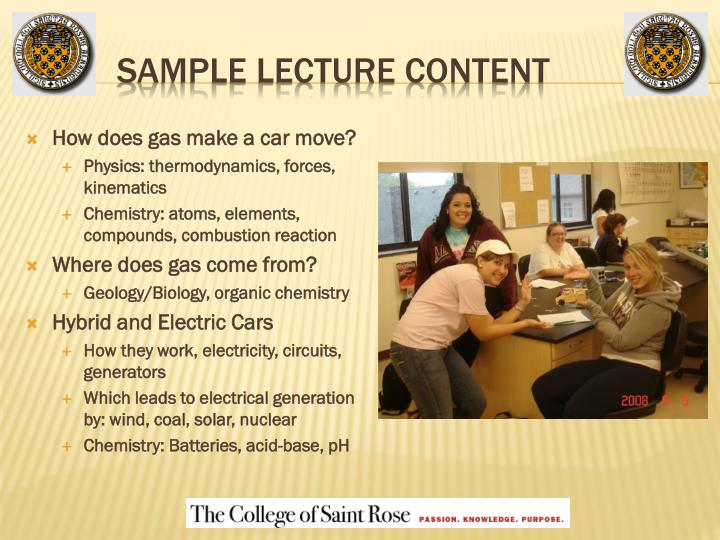 Sample Lecture Content