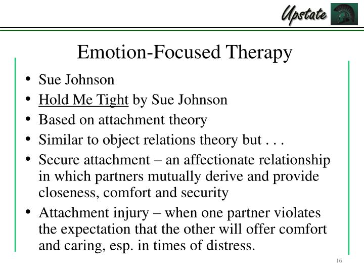 emotionfocused therapy