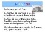 14 july 17891