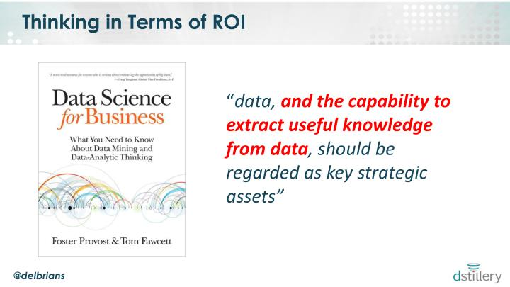 Thinking in Terms of ROI
