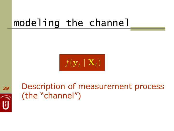 modeling the channel