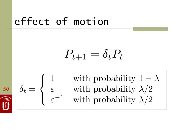 effect of motion