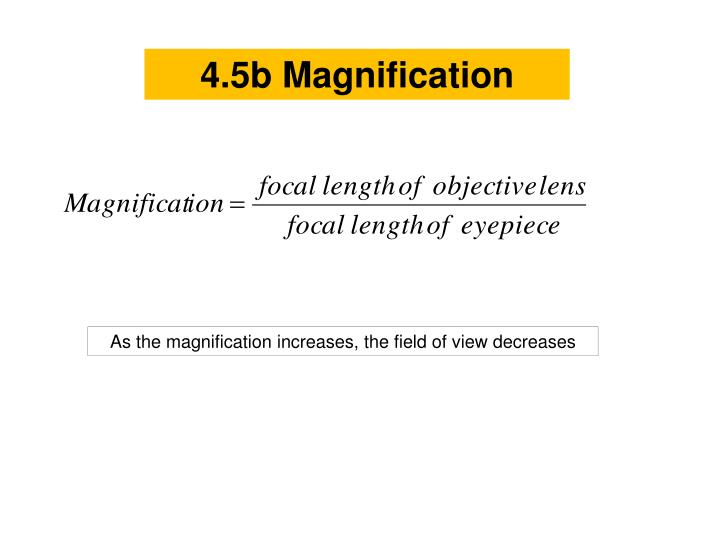 4.5b Magnification