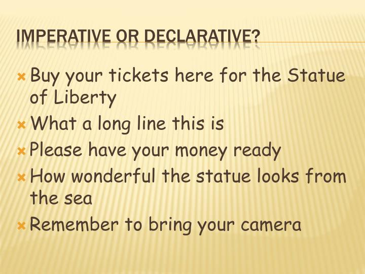 Buy your tickets here for the Statue of Liberty