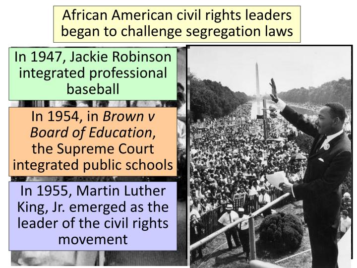 African American civil rights leaders