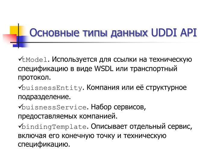 Основные типы данных