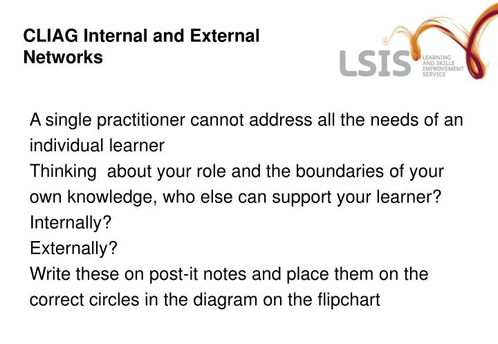 CLIAG Internal and External